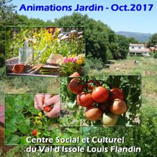 Local Var : Néoules - Programme octobre 2017 : Animations jardins