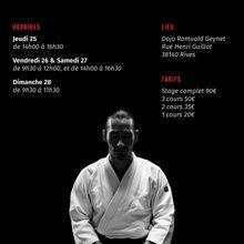 Léo Tamaki à Grenoble, 25 au 28 mai