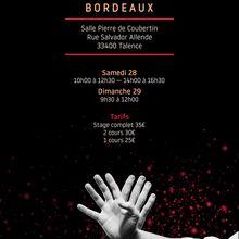 Léo Tamaki à Bordeaux, 28 et 29 octobre