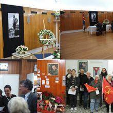 Disparition de Fidel Castro : une délégation porte les condoléances de la section du PCF Paris 15 à l'ambassade de Cuba en France