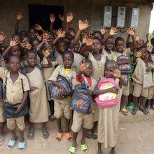 32 enfants scolarisés à Gbognonhoué
