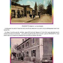FRANCHETTI, un nom, une ville, Tout une histoire ….! 2eme partie