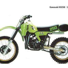 Kawasaki 250 kx de 1982 en projet de restauration a neuf! Sur cette page : détails, explications, tuyaux, bon plan.