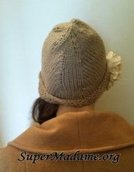 Explications tricot gratuites : bonnet cloche