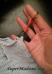 Fabriquer de jolis marqueurs tricot