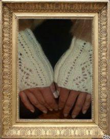 Modele de tricot facile et gratuit : mitaines surmanches