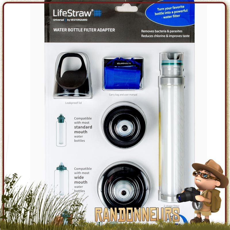 Kit de filtration Universel Lifestraw