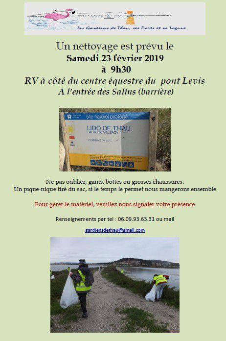 Nettoyage aux Salins-Villeroy