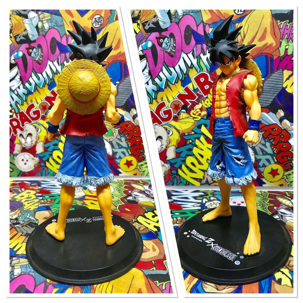 Luffy Style Son Goku Jump 40th anniversary