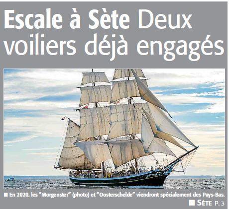 publicité Escale à Sète