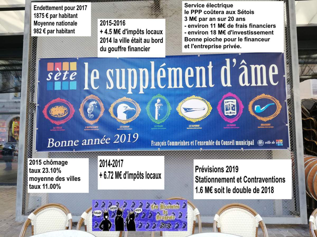 sete, voeux municipal 2019, supplement d'ame, sans états d'ames,