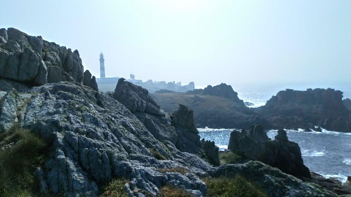 Balade sur l'Ile d'Ouessant au large du Finistère