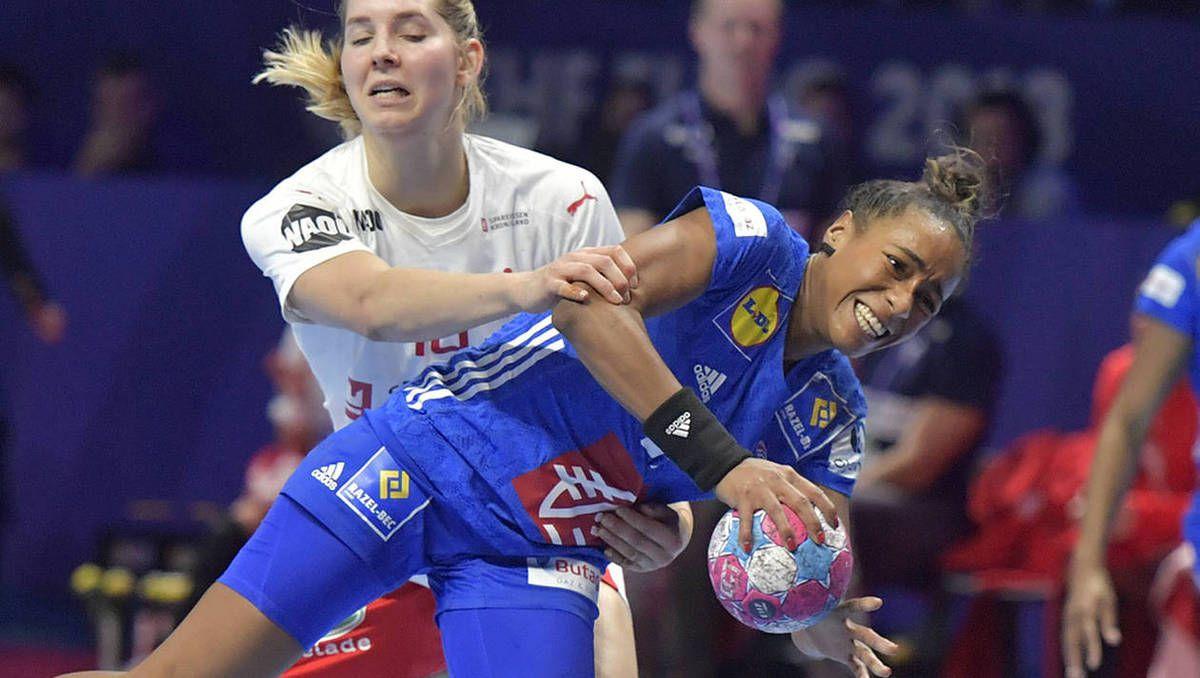 Estelle Nze Minko a été déterminante mercredi face à la Serbie [Crédit : Ouest-France].