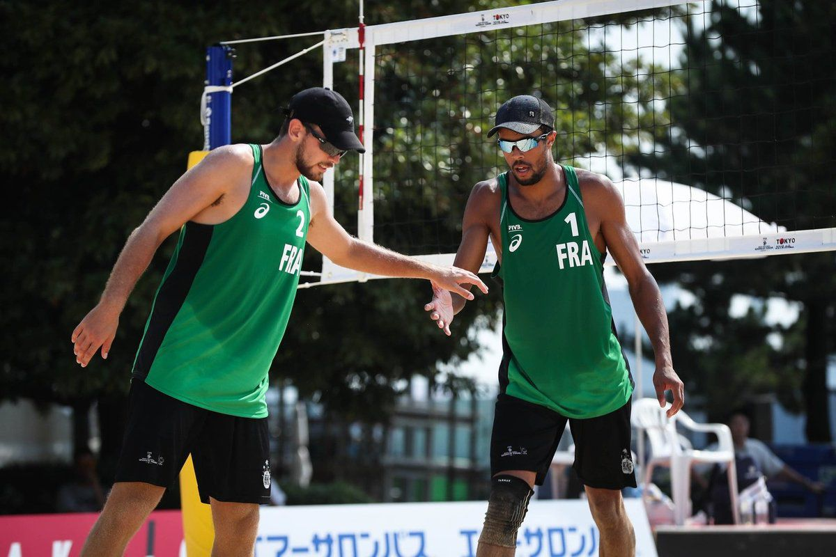 Quincy Ayé, beach-volley France