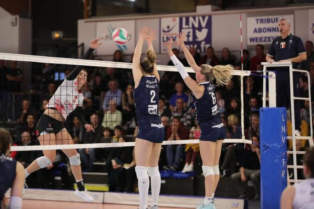 Ligue A de volley-ball F 2019 2020