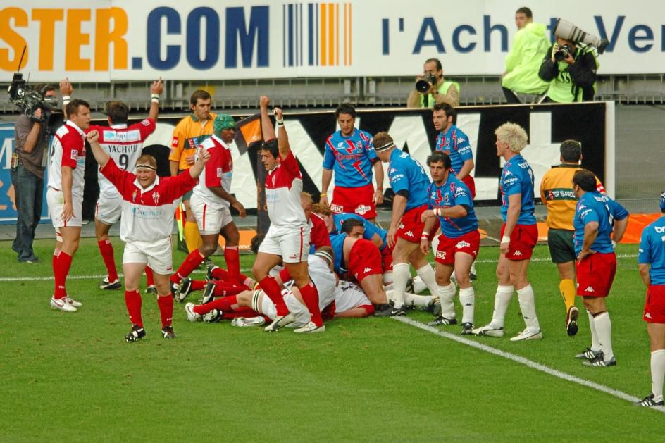 Rugby, Biarritz Olympique, Top 16 2005, Jean-Baptiste Gobelet