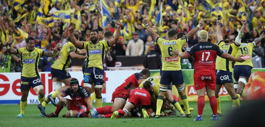 Rugby, Top 14, ASM Clermont-Auvergne, Clermont-Toulon 2017