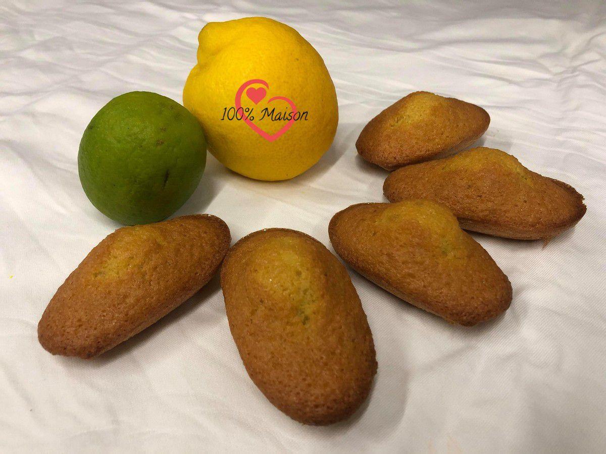 Madeleines aux citrons