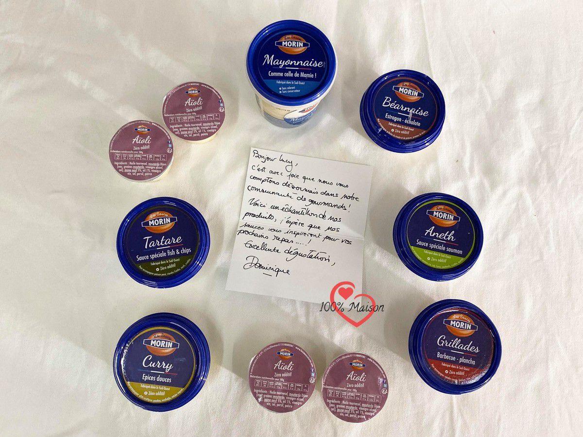 Partenariat avec Les Sauces Morin