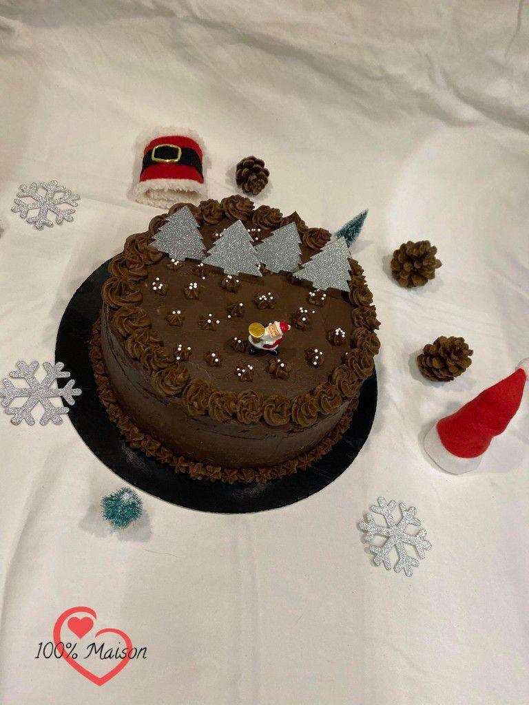 Layer Cake à la Châtaignes et Chocolat