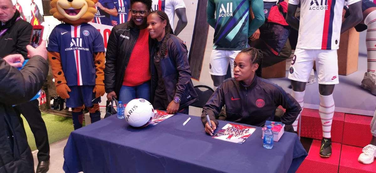 Qualification de l'équipe féminine du PSG en 1/4 de finale de la Ligue des championnes