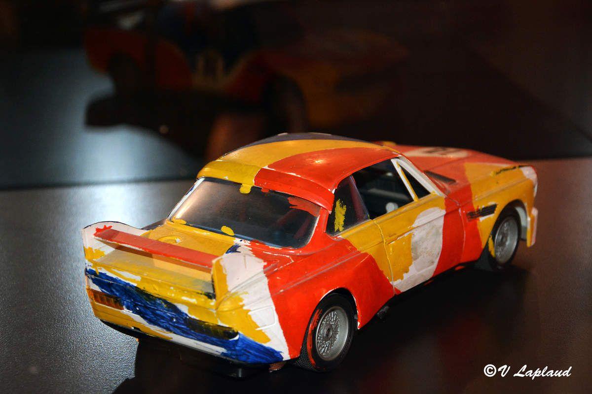 "Ebauche BMW 3.0 CSL Alexander Calder Expostion ""Artcars"" Le mans 2016."