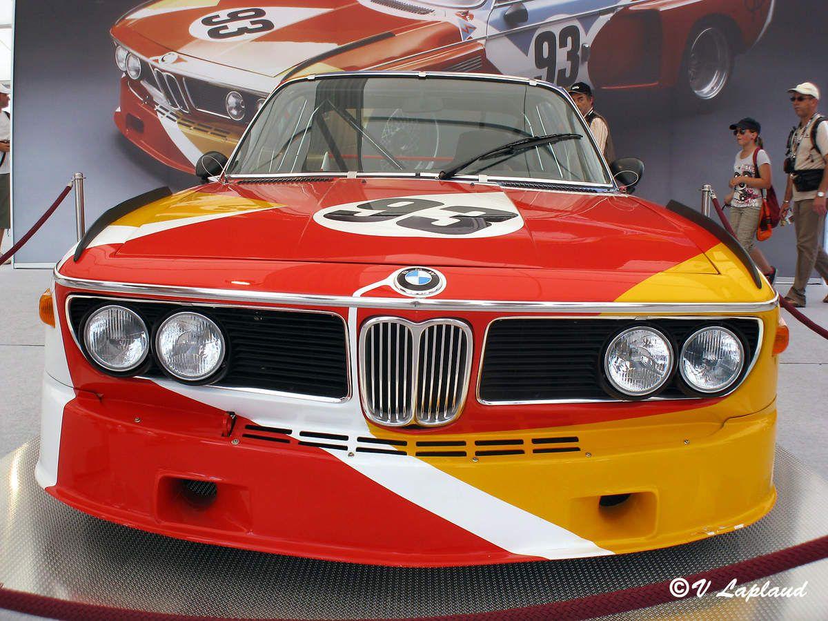 """B.M.W 3.0 CSL """"Calder"""" Le mans Classic 2010"""