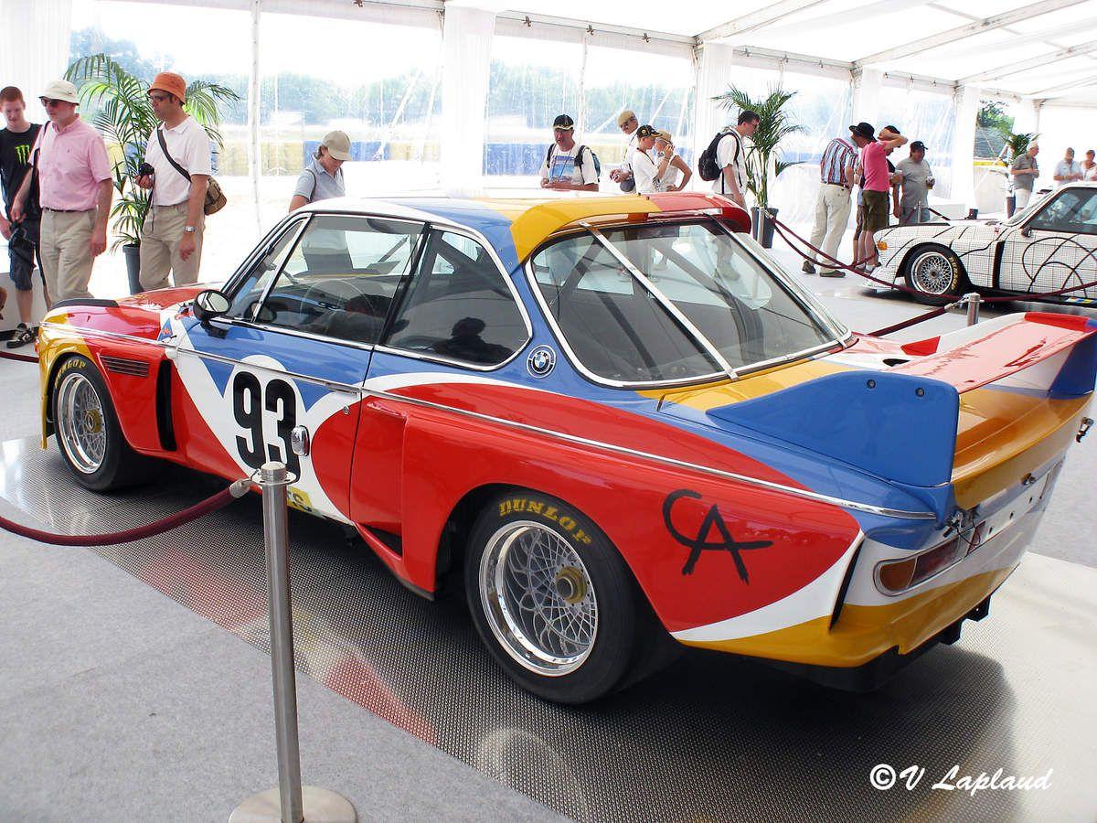 B.M.W. 3.0 CSL Calder Le Mans Classic 2010.