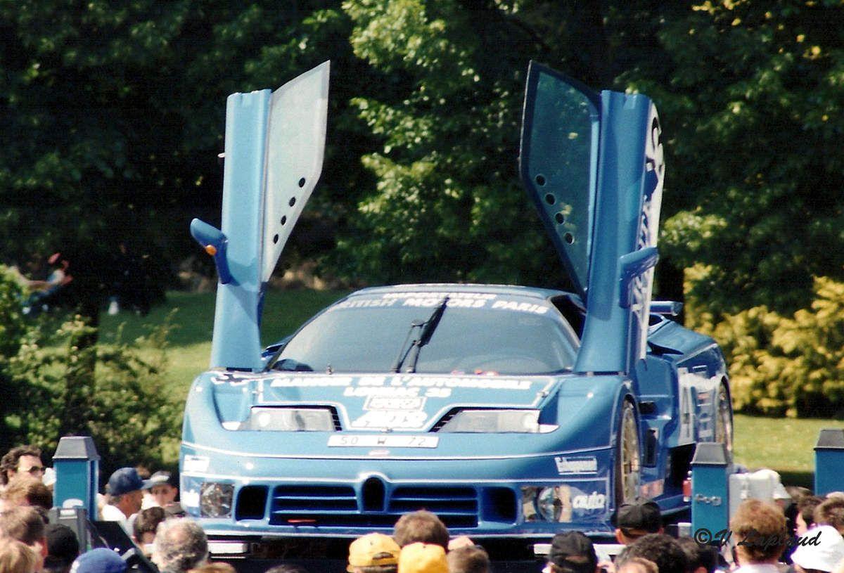 EB 110 LM #S16 Pesage 24 Heures du Mans 1994.