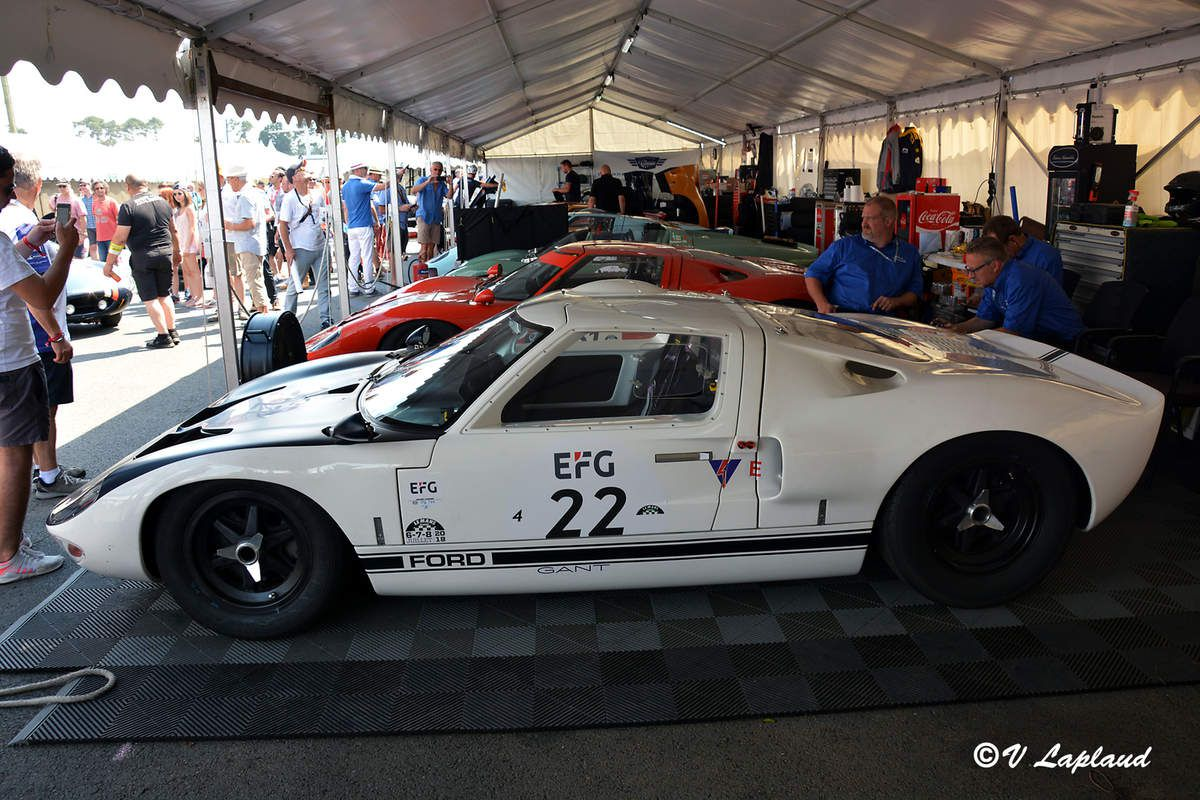 Ford GT40 #GT/105 Le Mans Classic 2018