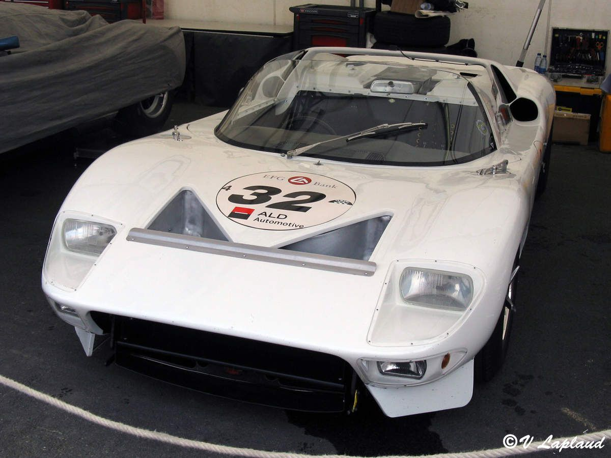 Ford GT40 #GT/111 Le Mans Classic 2008.