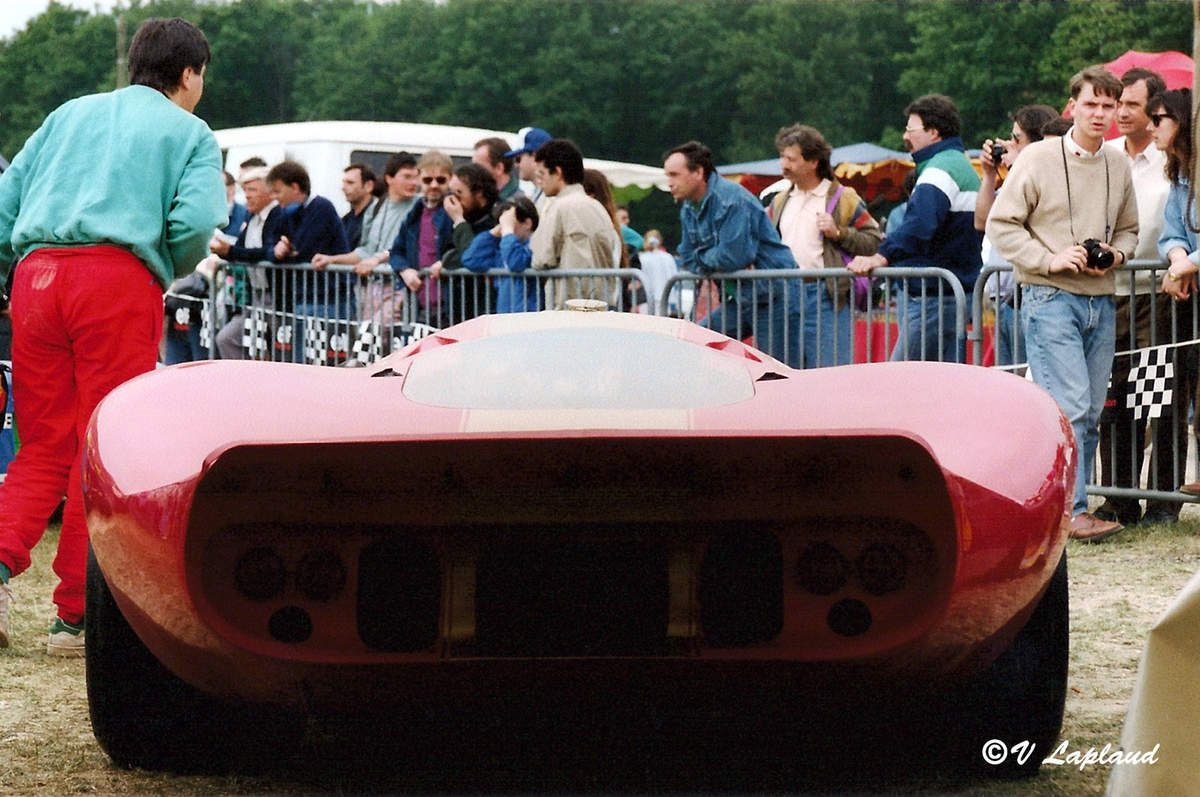 Ford P68 #003 au Grand Prix de Paris 1991.