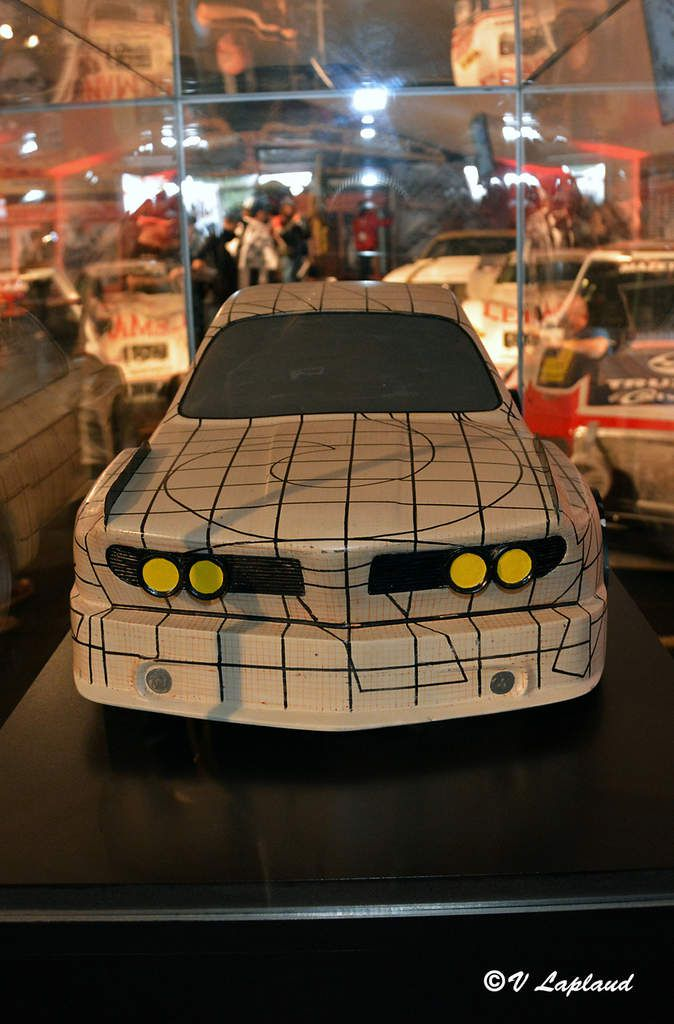 Maquette d'étude de décoration BMW 3.0 CSL Turbo #2275981 Frank Stella (Collection Poulain)