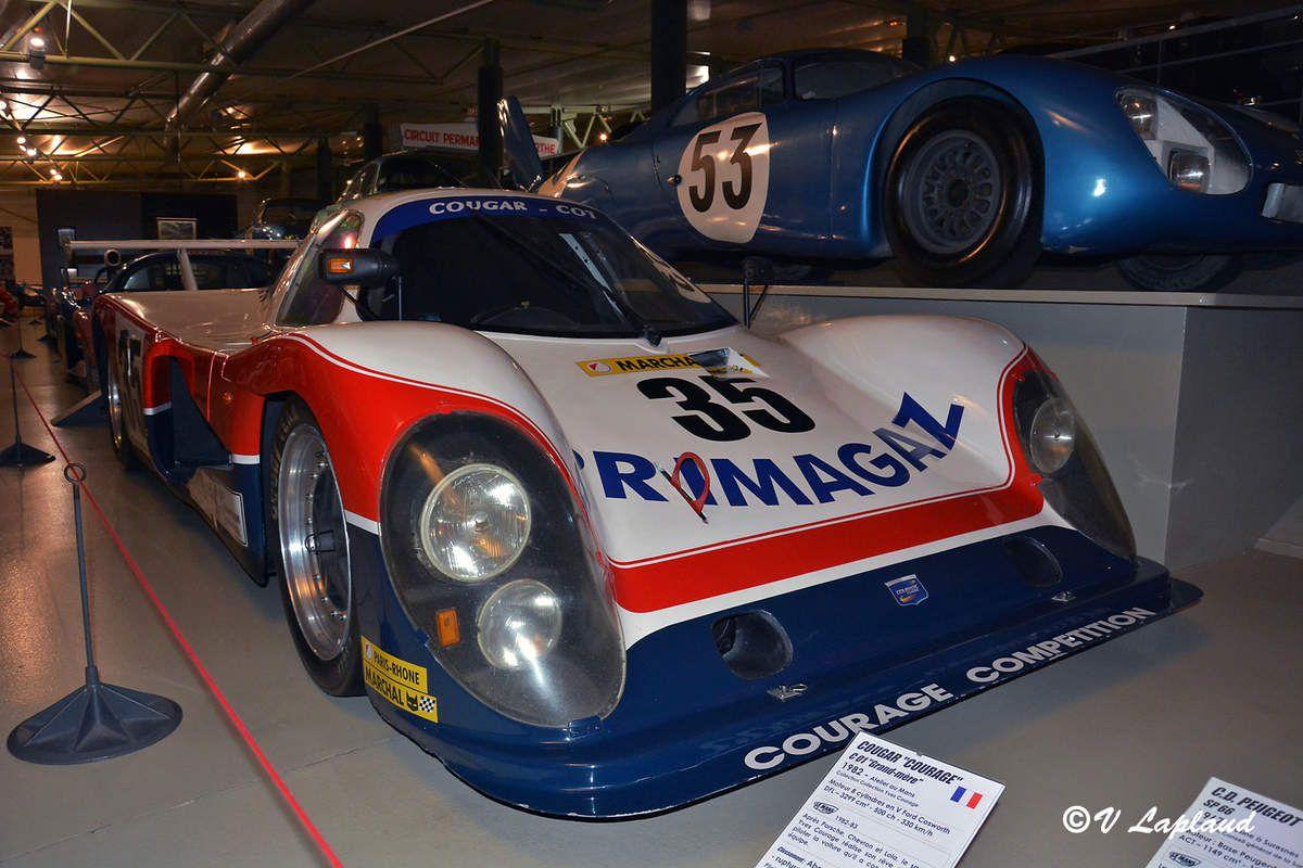 Cougar C01 (/01B) #01 des 24 Heures du Mans 1982 Musée Automobile de la Sarthe.