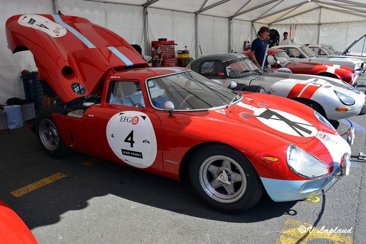 Ferrari 250 LM #5907 le Mans Classic 2016.