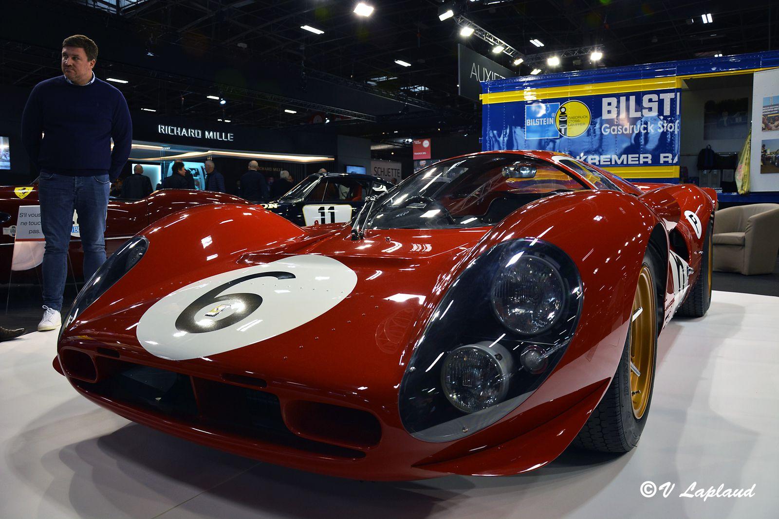 Ferrari 330 P4 #0858 2ème Le Mans 1967 Retromobile 2020.