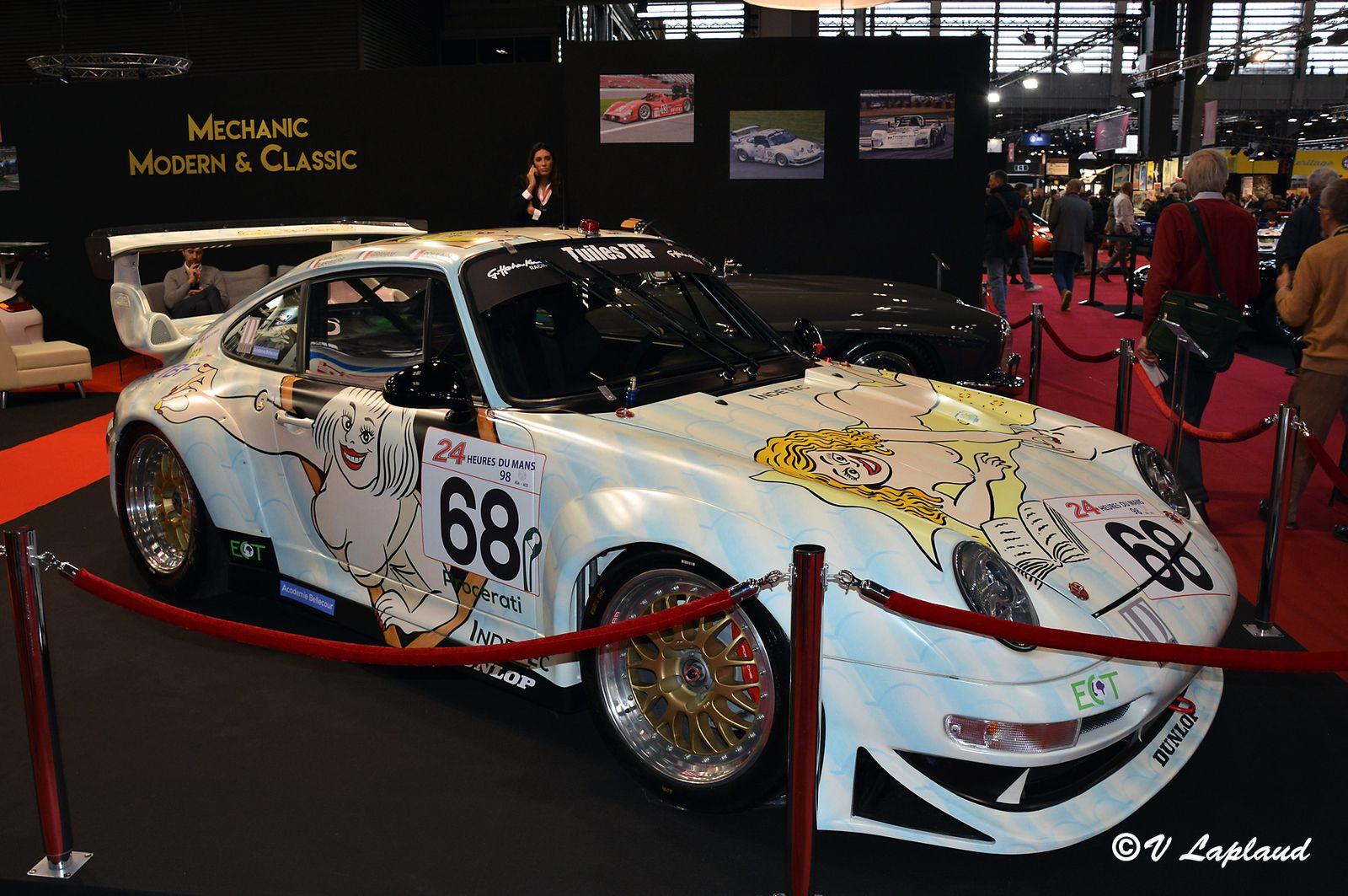 """Porsche 911 GT2 #WP0ZZZ99ZTS393085 """"Wolinski"""" Le Mans 1998 Retromobile 2020."""
