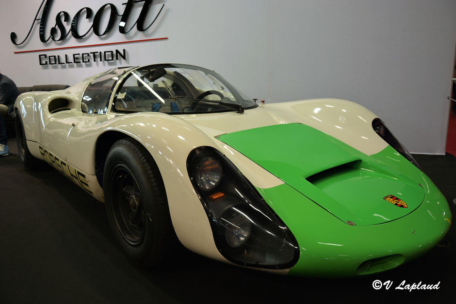 Porsche 910 #027 Retromobile 2020.
