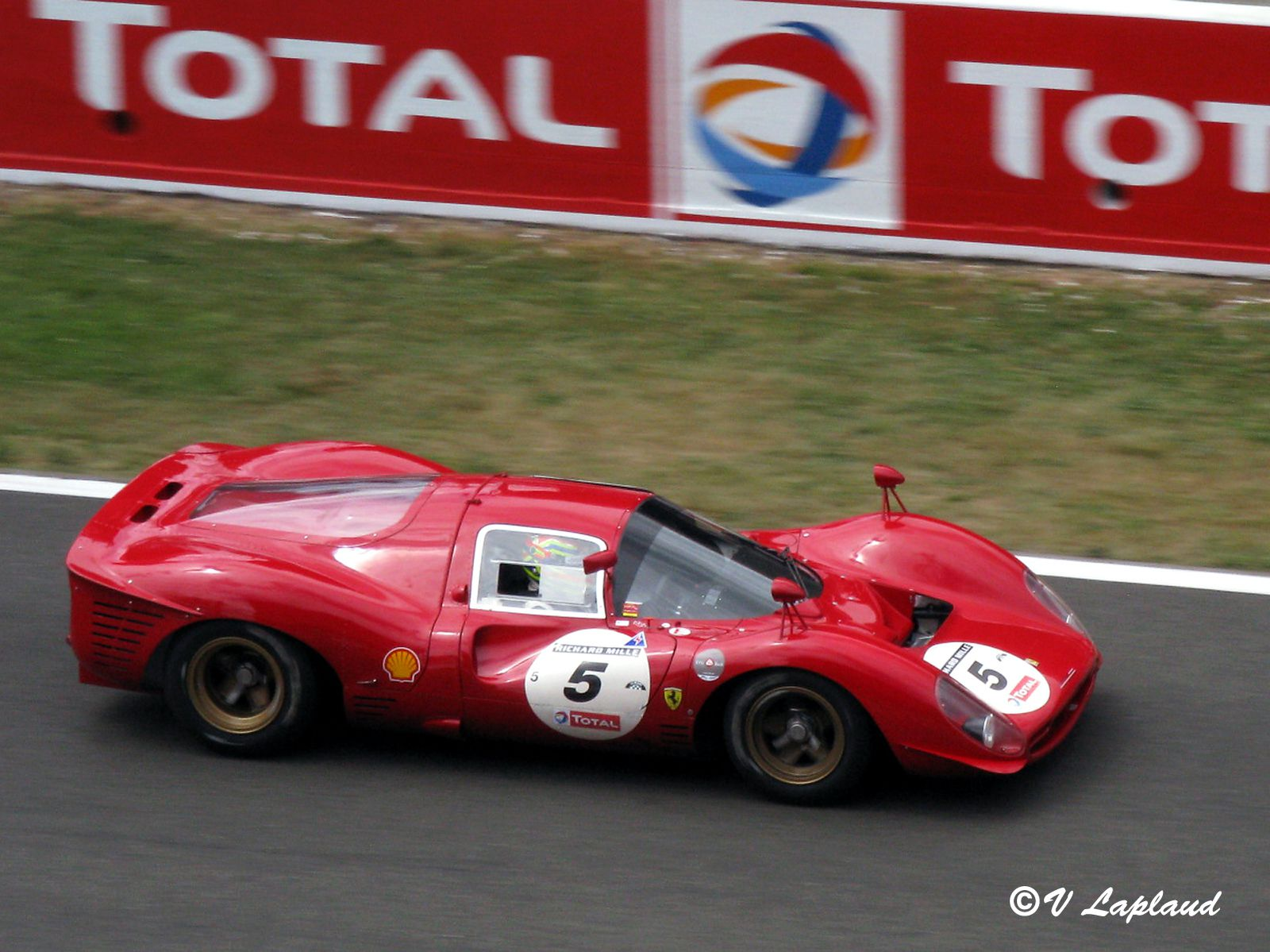 Ferrari 412 P #0844 Le Mans Classic 2008.
