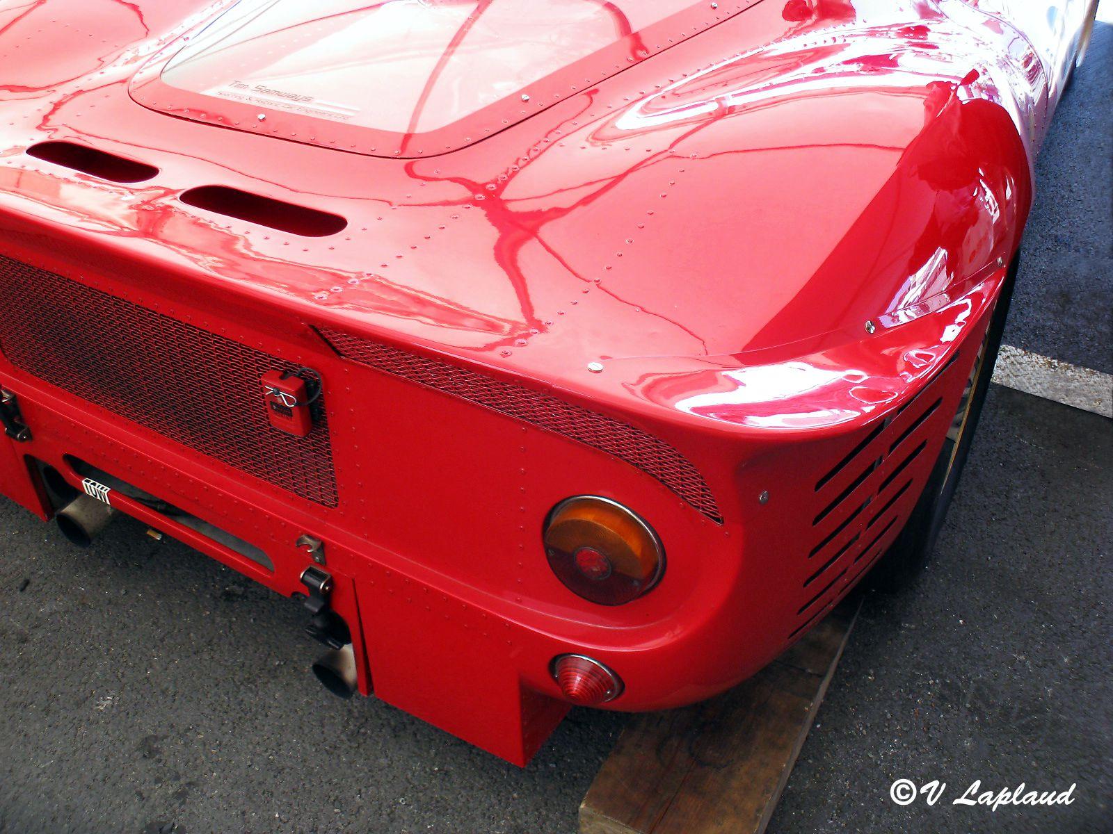 Ferrari 412 P #0844 Le Mans Classic 2010.