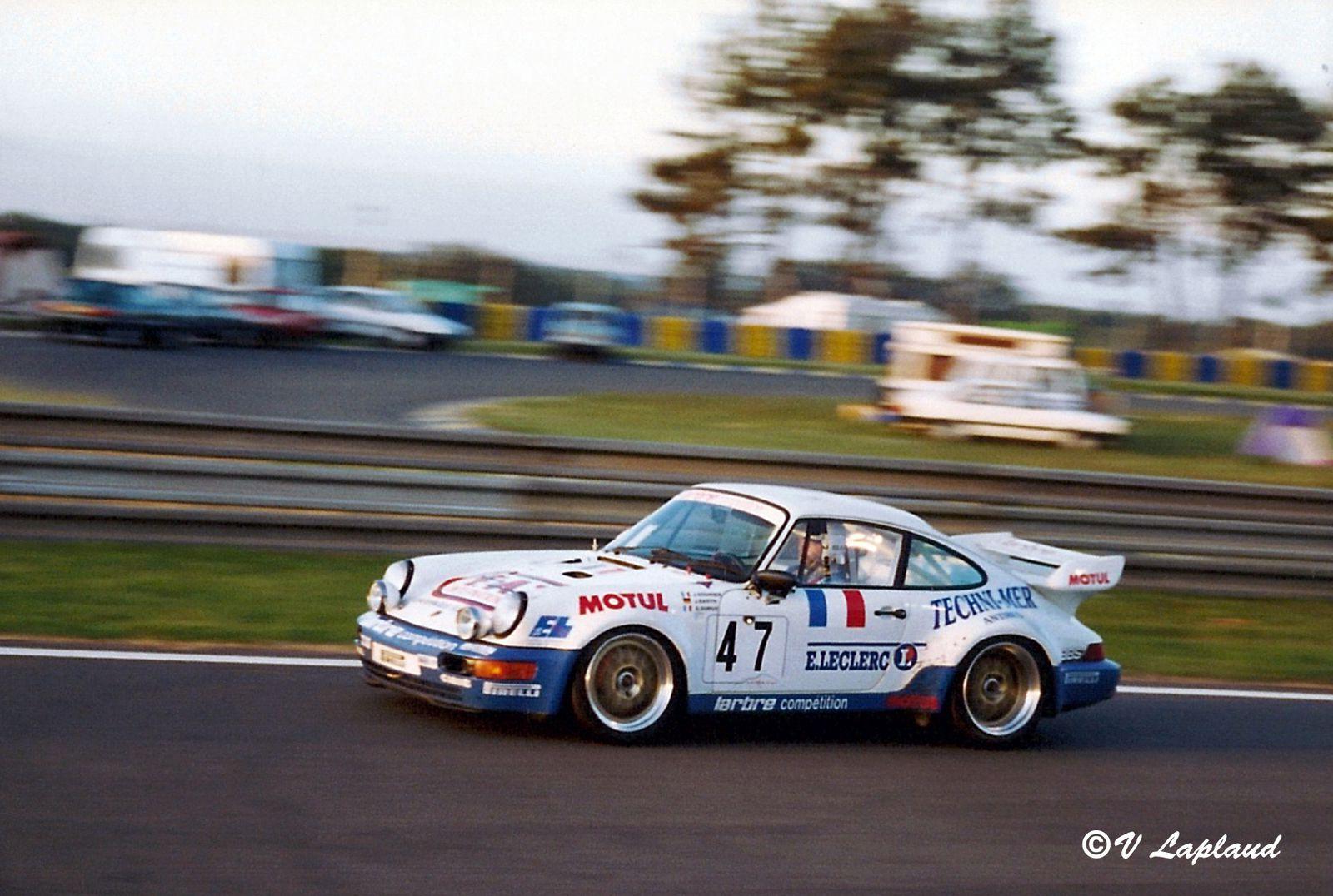 Porsche 964 Carrera RSR 3.8 #WP0ZZZ96ZPS496074 de Joël Gouhier, Dominique Dupuy et Jürgen Barth 24 Heures du Mans 1993