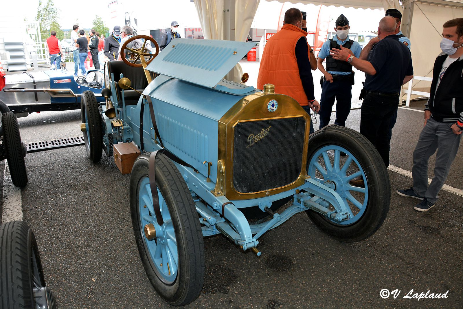 Berliet Type BD 40cv 1908, Classic Days 2020, Magny-Cours.