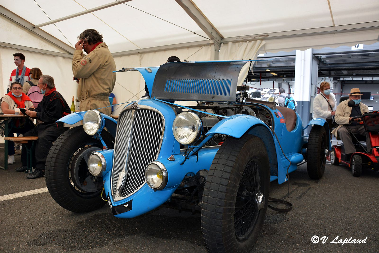 Delahaye 135S #48754, Classic Days 2020, Magny-Cours.