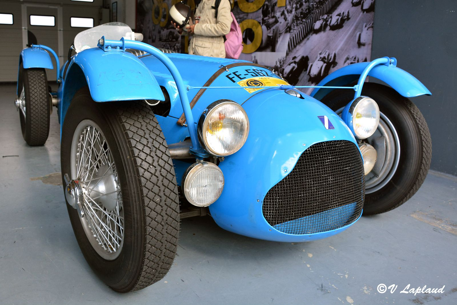 Talbot Lago T26GS, classic Days 2020, Magny-Cours.