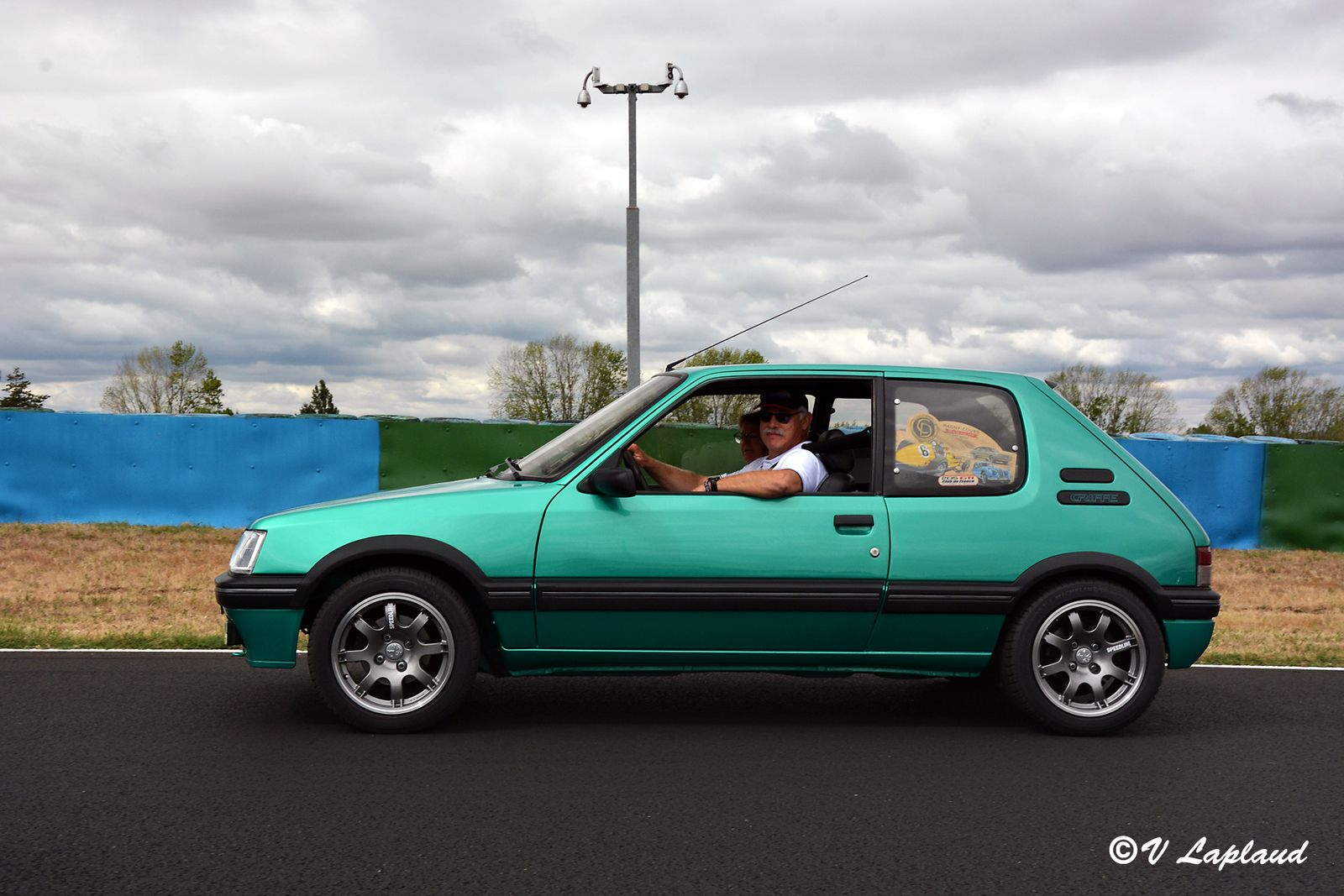 Peugeot 205 GTi Griffe 1990, Classic Days 2020, Magny-Cours.