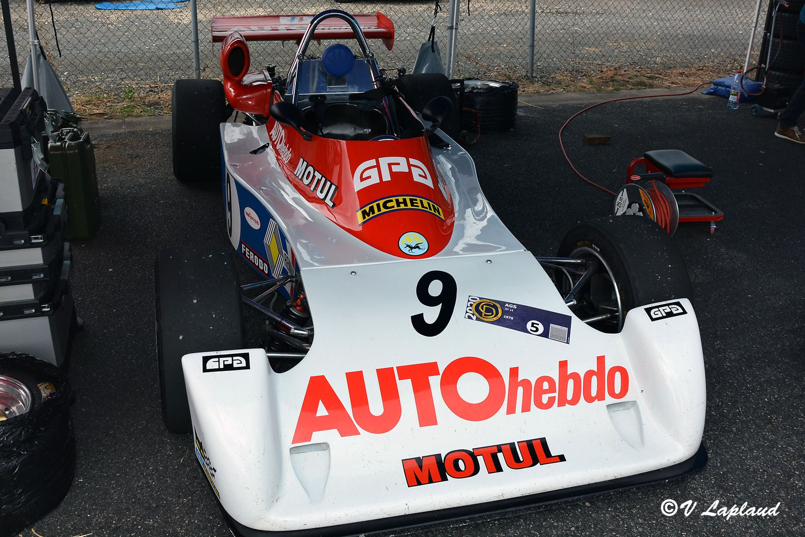 AGS JH14 #017 Formule Renault Europe 1976, Classic Days 2020, Magny-Cours.