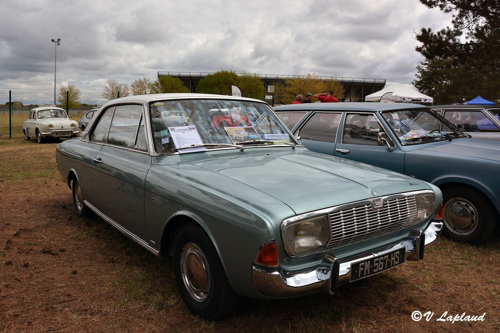 Ford Taunus 2.0m TS Coupé hardtop de 1966, Classic Days 2020, Maggny-Cours.
