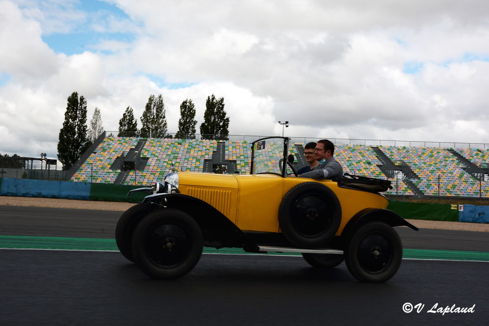 Citröen 5 HP Cabriolet 1924, Classic Days 2020, Magny-Cours.