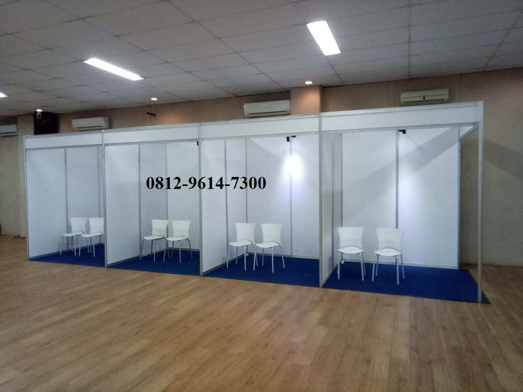 Booth Partisi R8, Sewa Booth R8