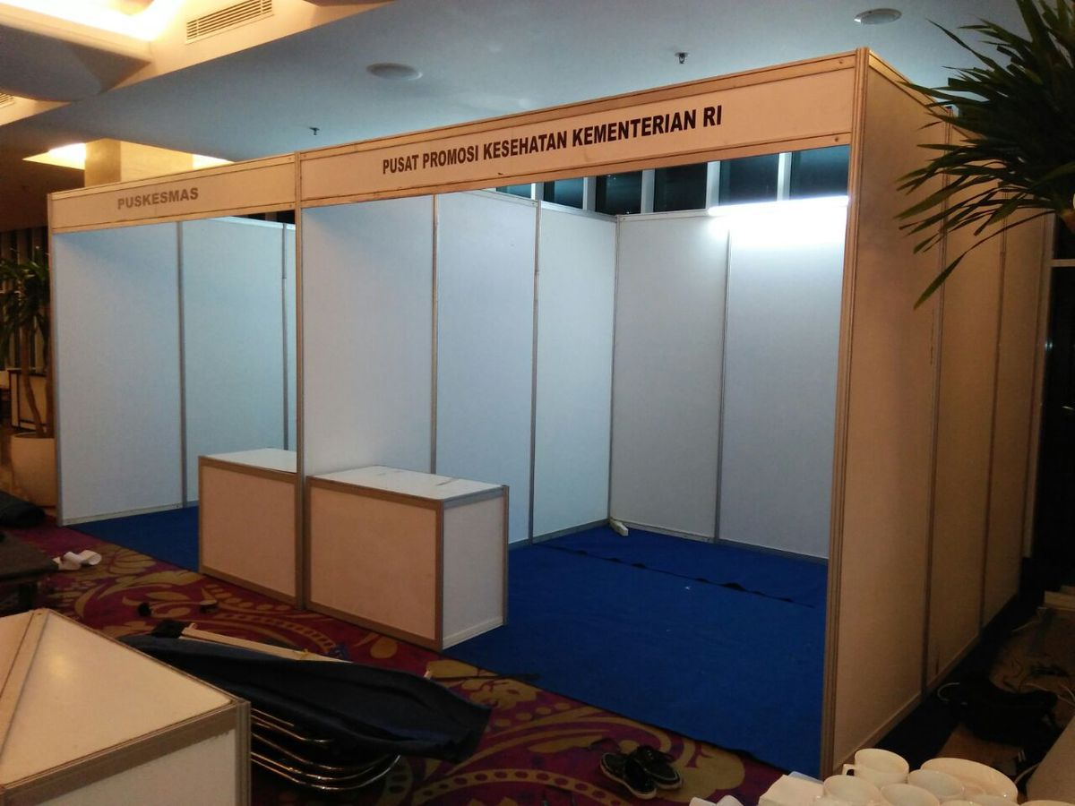 Sewa Fitting Room, Partisi Event